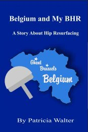 Belgium and My BHR - Surface Hippy Guide to Hip Resurfacing
