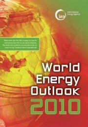 World Energy Outlook 2010