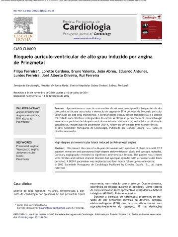 RPC 2012 233.pdf - Repositório do Centro Hospitalar de Lisboa ...