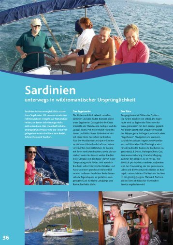 Sardinien (Italien) - PRO SAILING Yacht Charter International