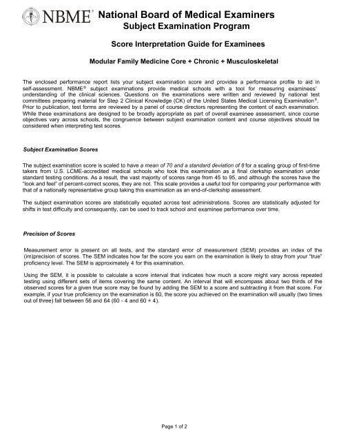 Nbme family medicine form 2 pdf