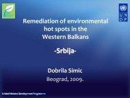 Srbija - Western Balkans Environment Programe