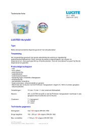 Lucite Acrylosil - NL - 04-2012 - CD-Color GmbH & Co.KG