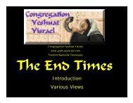 End Times 001.pdf - Congregation Yeshuat Yisrael