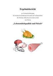 Ergebnisbericht - Institut für Ernährungswirtschaft und ...