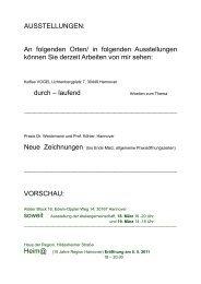 Ausstellungen und Kurse - Künstler / Freizeit - HAZ