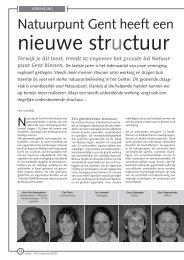 jg7_nr4_Nieuwe structuur.pdf - Natuurpunt Gent