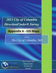 Appendix A - GIS Maps - City of Columbia, Missouri