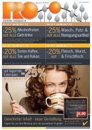 -25% -25% -20% -20% - Pro Kaufland