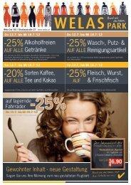 -25% -25% -20% -25% - Pro Kaufland