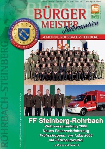 FF Steinberg-Rohrbach - Rohrbach-Steinberg
