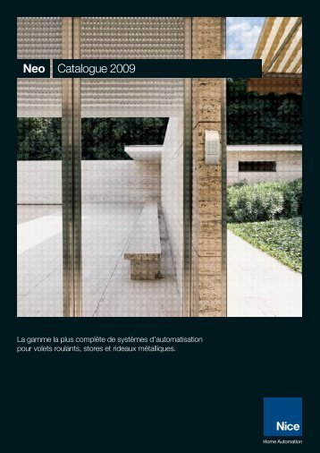 Nice Nice to Neo Catalogue 2009