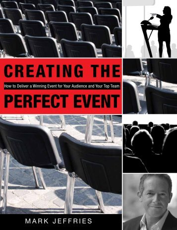 Creating the Perfect Event - Mark Jeffries