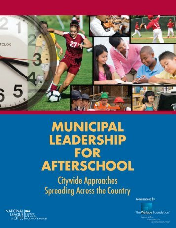 Municipal Leadership for Afterschool - National League of Cities