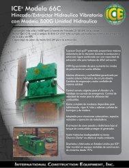 ICE® Modelo 66C - ICEUSA
