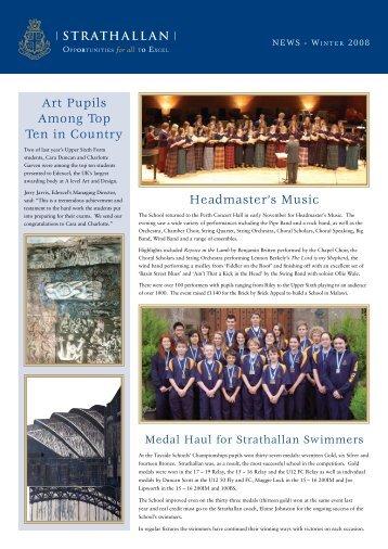 Art Pupils Among Top Ten in Country Headmaster's Music