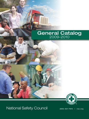 Download General Catalog (PDF 7.6mb) - Oklahoma Safety Council