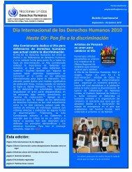 Día Internacional de los Derechos Humanos 2010 Hazte ... - Acnudh