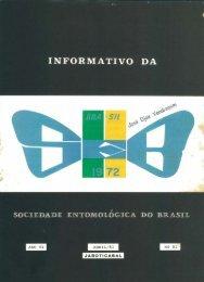 X - Sociedade Entomológica do Brasil