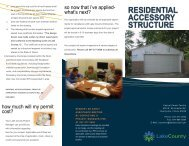 Residential_Accessory_Structures - Lake County Illinois
