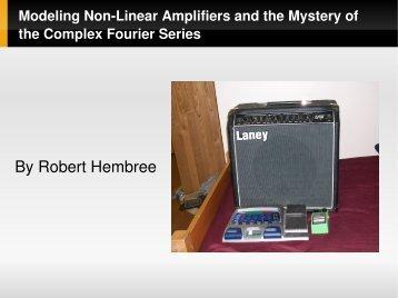 Modeling Nonlinear Amplifiers