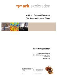 Technical Report on The Asuogya Licence - PrecisionIR