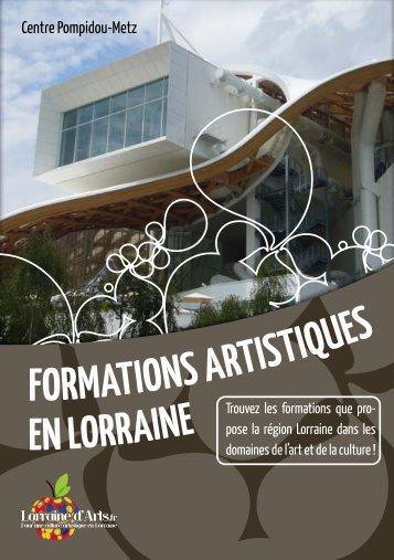 Guide des Formations en Lorraine - Lorraine d'Arts
