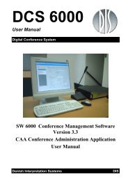 CAA User Manual ver 3.3 - DIS