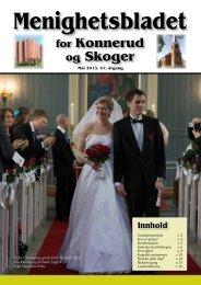 Menighetsbladet 02/13 - Den norske kirke i Drammen
