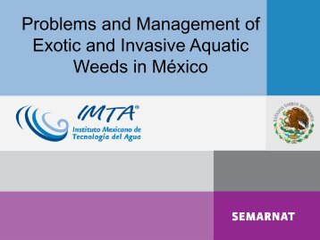 Prevention and Control of malezas in México - Center for Invasive ...