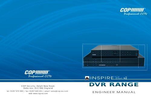 Cop security dvr08shd manuals.