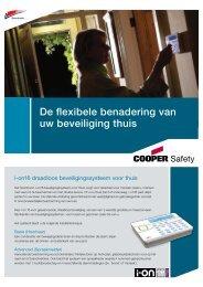 De flexibele benadering van uw beveiliging thuis - Cooper Security
