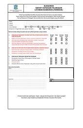 kuesioner survey kepuasan pelanggan layanan kearsipan (pameran)