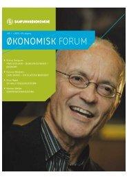 Oko.forum nr 1-04 - Samfunnsøkonomene