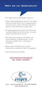 Aktiver Gehörschutz für Jäger & Sportschützen - otoplastik.at - Seite 4