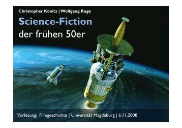 Bildungspotenziale von SF - Wolfgang B. Ruge