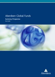 Aberdeen Global Funds - Fundsupermart.com