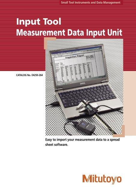 Mitutoyo IT-007R Data Input Unit