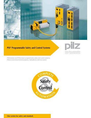 Pilz Safety PLC Literature - ISE Controls