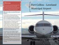 Fort Collins Loveland Airport Informational Brochure