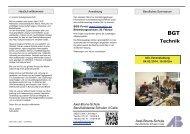 Berufliches Gymnasium -Technik - BBS-Portal