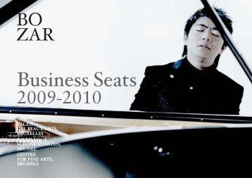 Business Seats - Bozar.be