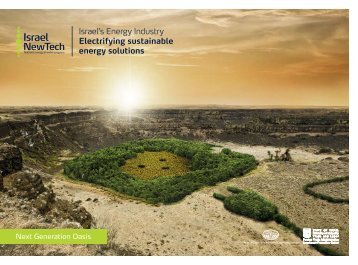 Israel's Energy Industry Electrifying sustainable ... - Invest in Israel