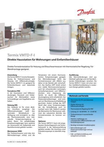 Termix VMTD-F-I - Danfoss GmbH