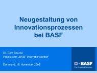 BASF Innovation Chains - Refa-chemie.de