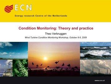 Theo Verbruggen Wind Turbine Condition Monitoring Workshop