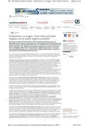 Rassegna Stampa completa - FederLab Italia