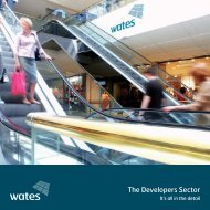 To download a pdf of our Developers brochure click here - Wates