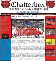 June 7, 2012 - Ruston High School