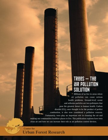 The Air Pollution Solution - USDA Forest Service